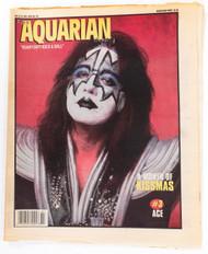 KISS Newspaper - Aquarian 12/98, Ace