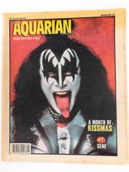 KISS Newspaper - Aquarian 12/98, Gene