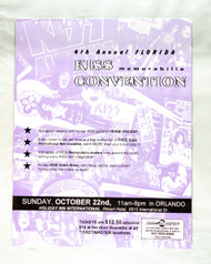 KISS Poster - 1996 Florida KISS Convention w/Vinnie Vincent, (4th annual)