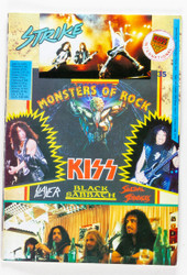 KISS Magazine - KISS Strike Fanzine #35, Monsters of Rock