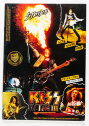KISS Magazine - KISS Strike Fanzine, August 1993, Gene Breathing Fire
