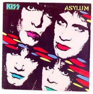 KISS Vinyl Record LP - Asylum