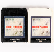 KISS 8-Track Tape - Double Platinum, (black and white)