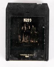 KISS 8-Track Tape - Dressed to Kill