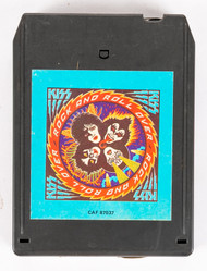 KISS 8-Track Tape - Rock and Roll Over, (blue label)
