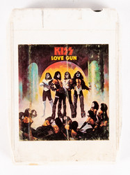 KISS 8-Track Tape - Love Gun