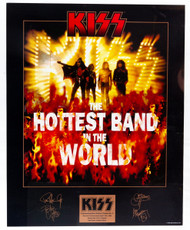 "KISS Poster - Hottest Band, commemorative edition no.3, (20 x 16"")"
