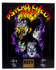"KISS Poster - Psycho Circus, commemorative edition no.4, (20 x 16"")"