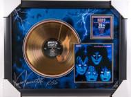 KISS Vinnie Vincent Autographed Creatures Gold Record, (12/50)