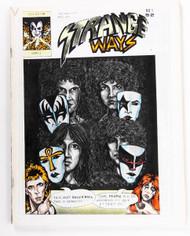 KISS Magazine - KISS Strange Ways Fanzine #1, 1985