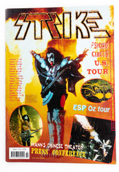 KISS Fanzine - KISS Strike, 1999, (Psycho Circus US Tour)