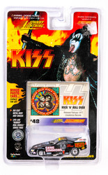 KISS Johnny Lightning Car - Stock Car, Gene Simmons #48