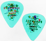 KISS Guitar Pick - Ace Frehley City Pick, Richmond 2001, translucent green