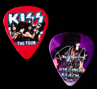 KISS Guitar Pick - Virginia Beach The Tour, 2012 Paul