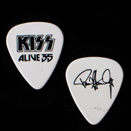 KISS Guitar Pick - Alive 35 Tour, Black on White, Paul