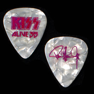 KISS Guitar Pick - Alive 35, Pearl Purple Signature, Paul