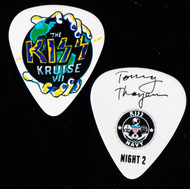 KISS Guitar Pick - KISS Kruise VII, Night 2, Tommy