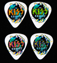 KISS Guitar Pick - KISS Kruise VII, Night 2, (set of 4)