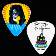 KISS Guitar Pick - KISS Kruise VIII, Sailaway, Tommy