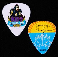 KISS Guitar Pick - KISS Kruise VIII, Night 1, Tommy