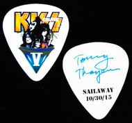 KISS Guitar Pick - KISS Kruise V, Sailaway, Tommy