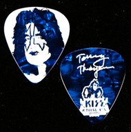 KISS Guitar Pick - KISS Kruise VIII, Tommy, (Pearloid Blue)