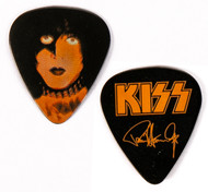 KISS Guitar Pick - KISS Kruise III, Orange on Black, Paul