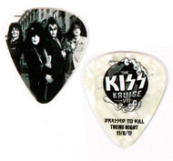 KISS Guitar Pick - KISS Kruise VII, Dressed to Kill Theme Night
