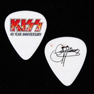 KISS Guitar Pick - 40th Anniversary, Flames, Gene