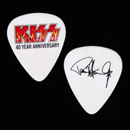 KISS Guitar Pick - 40th Anniversary, Flames, Paul