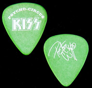 KISS Guitar Pick - Psycho Circus, powder green, Peter
