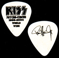 KISS Guitar Pick - Psycho Circus PROTOTYPE, black on white, Paul
