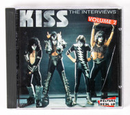 KISS Audio CD - The Interviews volume 2, (unofficial)