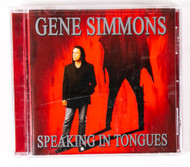 KISS Audio CD - Gene Simmons Speaking in Tongues