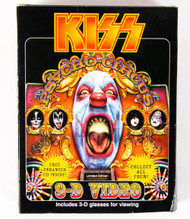 KISS 3-D Psycho Circus Video w/CD single - Ace (open)