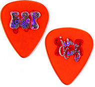 ESP Guitar Pick - John Corabi, red