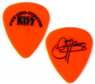 KISS Guitar Pick - Psycho Circus, retail, red, Gene