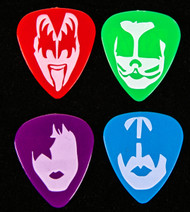 KISS Guitar Pick - KISS Kruise IX, four color exclusive.