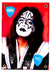 KISS Guitar Pick - Display Plaque, Ace