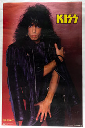 KISS Poster - Paul Leather Jacket '85.