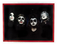 KISS Poster - First Album outtake, (small version)