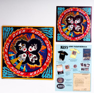 KISS Vinyl Record - KISS Rock and Roll Over, 1st pressing, all inserts.