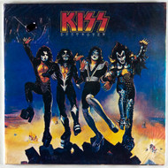KISS Vinyl Record - Destroyer, Russia