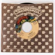 KISS 45 RPM Vinyl - Shock Me/Christine 16, (Casablanca sleeve)