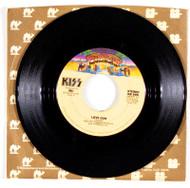 KISS 45 RPM Vinyl - Love Gun/Hooligan, (Casablanca sleeve)