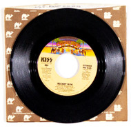 KISS 45 RPM Vinyl - Rocket Ride/Tomorrow and Tonight, (Casablanca sleeve)