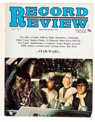 KISS Magazine - Record Review 1977, KISS/Star Wars