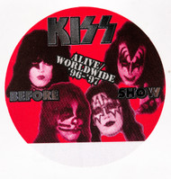 KISS Backstage Pass -  Alive/Worldwide 1996, BEFORE SHOW RED