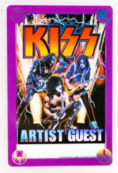 KISS Laminate - KISS/Aerosmith 2003 Artist Guest.