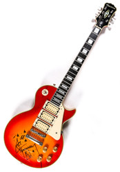 KISS Guitar - Ace Frehley Budokan 2012, signed by Ace Frehley